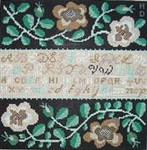ND820 White Rose Sampler Birds Of A Feather