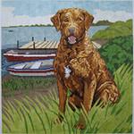 BR431 Barbara Russell Chesapeake Bay Retriever
