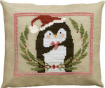 17-2044 ATO-XS16151 PINNY PENGUIN'S HEART OF CHRISTMAS (CS) 77w x 62h  Artful Offerings