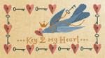 17-2047 ATO-XS16155 KEY 2 MY HEART (CS) 165w x 91h Artful Offerings