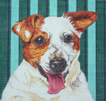 BR017 Barbara Russell Jack Russell Terrier