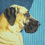 BR014 Barbara Russell Great Dane Uncropped Ears