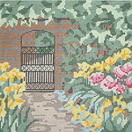 BR010 Barbara Russell Garden Gate