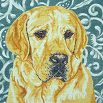BR026 Barbara Russell Yellow Lab