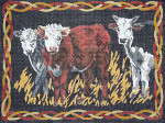 BR047 Barbara Russell Three Cows