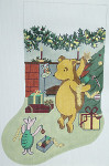 BR053 Barbara Russell Pooh Stocking