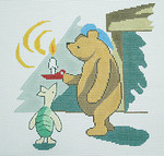 BR079 Barbara Russell Pooh's Bedtime