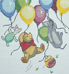 BR115 Barbara Russell Soaring With Balloons
