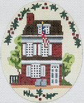 BR071D Barbara Russell Betsy Ross House No Holly