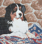 BR092 Barbara Russell Bernese Mountain Dog