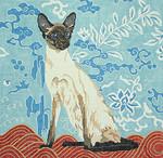 BR100 Barbara Russell Siamese Cat