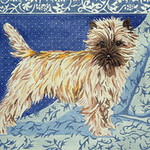 BR106 Barbara Russell Cairn Terrier