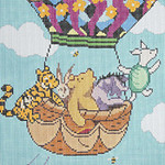 BR116 Barbara Russell Pooh's Balloon Trip