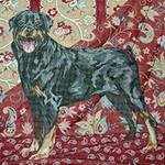 BR121 Barbara Russell Rottweiler