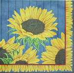 BR139 Barbara Russell Sunflowers