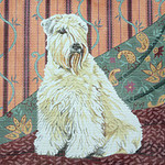BR176 Barbara Russell Soft Coated Wheaten Terrier