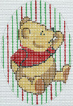 """BR202 Barbara Russell Pooh Ornament 4 x 5.75"""""""