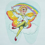 BR210 Barbara Russell Tooth Fairy Rainbow