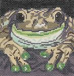 BR161 Barbara Russell Frog Coaster d