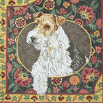 BR220 Barbara Russell Wirehaired Fox Terrier