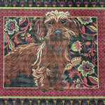 BR175 Barbara Russell Wire Haired Dachshund