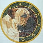 BR254 Barbara Russell Bull Mastiff
