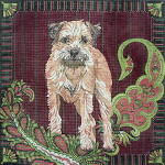 BR244 Barbara Russell Border Terrier