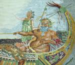 BR255 Barbara Russell Silenus 3rd Century BC Mosaic