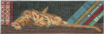 BR299 Barbara Russell Book Weight Sleeping Cat