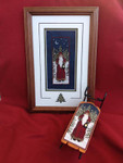 Twilight Santa 33 x 75 Foxwood Crossings Sled Sold Sepsrstely 15-2349YT