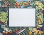 BR334 Barbara Russell Frogs Frame