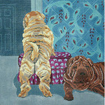 BR388 Barbara Russell Chinese Shar-Peis