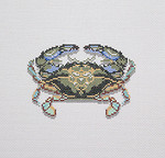 BR384 Barbara Russell Blue Crab