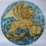BR434 Barbara Russell Winged Lion Of St. Mark