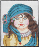 BRC6 Barbara Russell Gypsy Girl Designs By Clarice