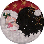 CC-138A Santa Moon Round 4 DIA  18 Mesh Associated Talents