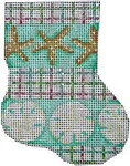 CT-1034 Starfish/Sand Dollar Mini Sock Associated Talents