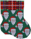 CT-1052 Associated Talents Santas Mini Stocking