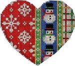 CT-1233 Flakes/Snowmen/Tattersall Heart Associated Talents