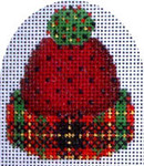 CT-1336 Micro Hat Plaid Green Tassle Associated Talents