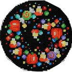 EE-1032 Candy Confetti Large Round Associated Talents