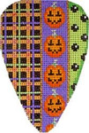 EE-901 Plaid/Pumpkins/Dots Large Candy Corn Associated Talents