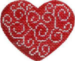 HE-601 Associated Talents Filigree Heart