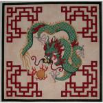 F-0715 Associated Talents Dragon Fretwork