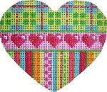 HE-801 Plaid/Hearts/Stripes Heart Associated Talents