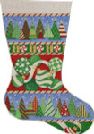 CS-280 Trees/Ornaments Stocking Associated Talents