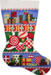 CS-281 Presents/Ornaments Stocking Associated Talents
