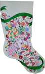 CS-215 Candy Stocking Associated Talents