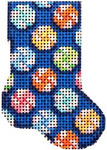 CT-1110 Tutti Frutti Peppermints Micro Mini Sock Associated Talents