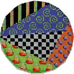 EE-1034 Halloween Patchwork Large Round Associated Talents